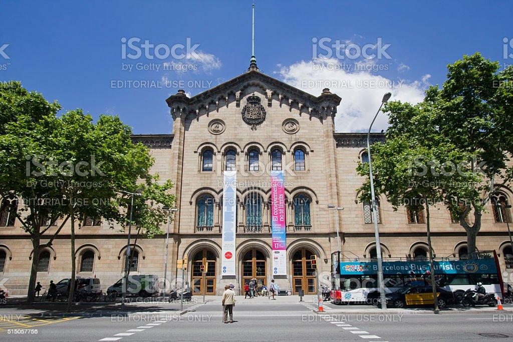 University of Barcelona stock photo