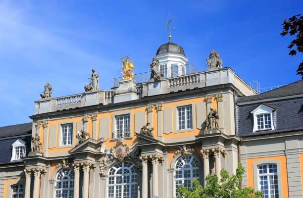 University of Bonn: Koblenz gate or Koblenzer Tor in the center of Bonn city in Germany, Europe. stock photo