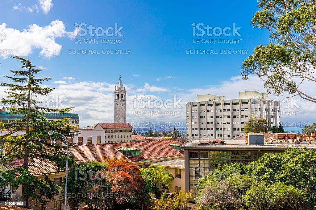 University of California at Berkeley stock photo