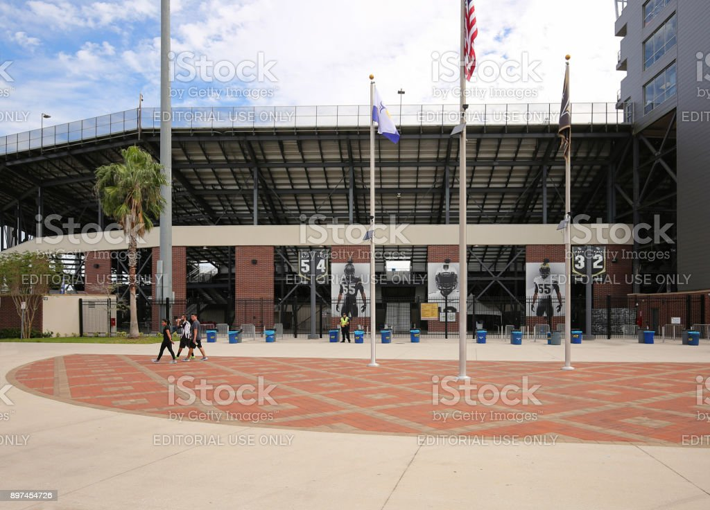 University of Central Florida's Stadium stock photo