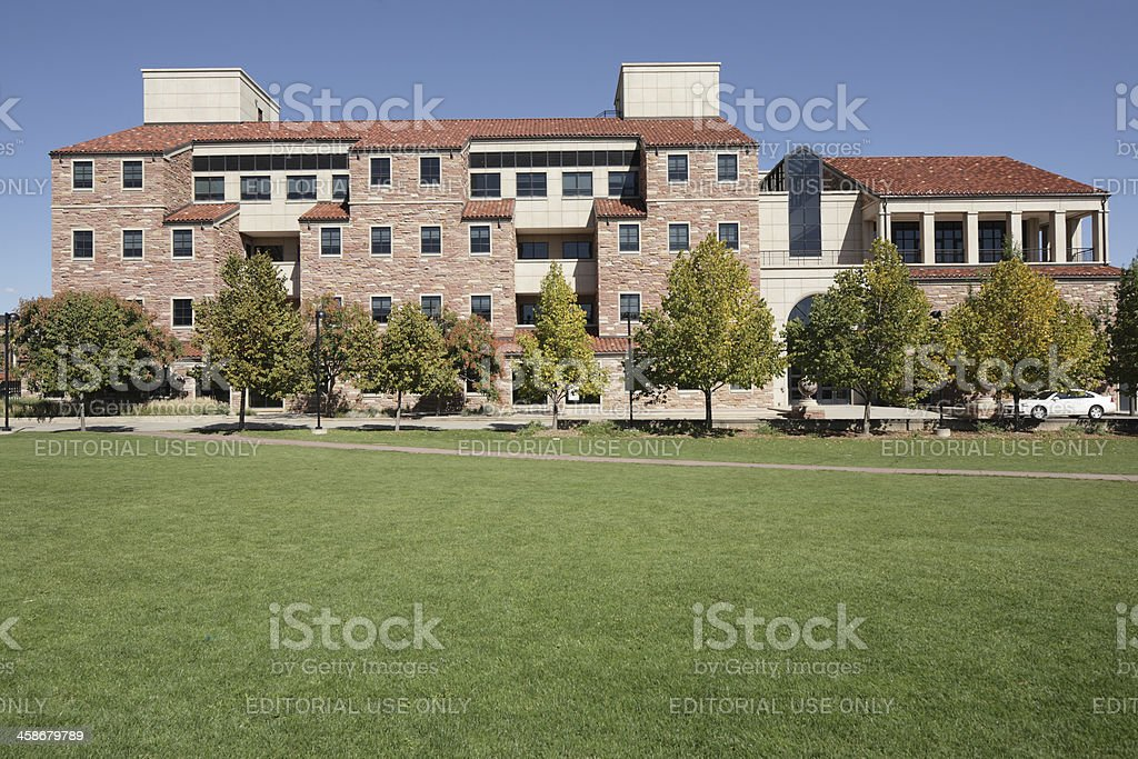 University of Colorado, Boulder, Benson Earth Sciences Building stock photo