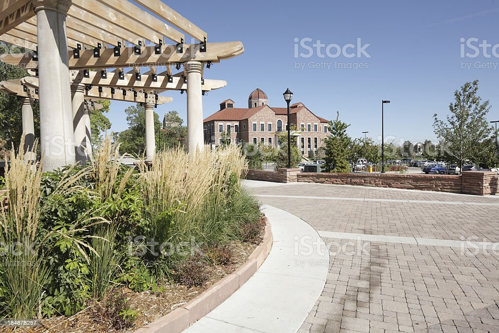 University of Colorado, Boulder business school stock photo