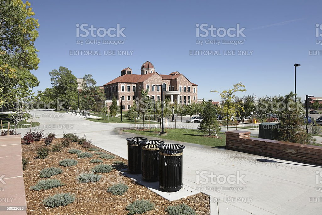 University of Colorado, Boulder, business school stock photo