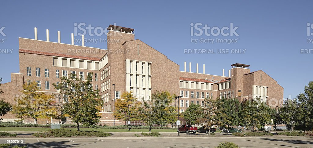 University of Colorado, Boulder, Caruthers Biotechnology Building stock photo