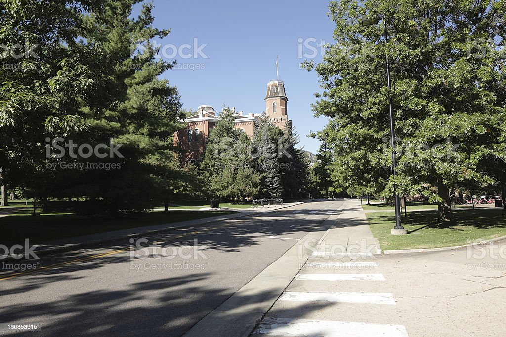 University of Colorado, Boulder, Old Main stock photo