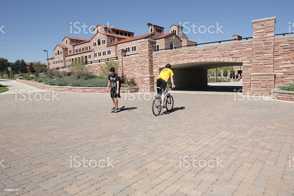 University of Colorado, Boulder stock photo