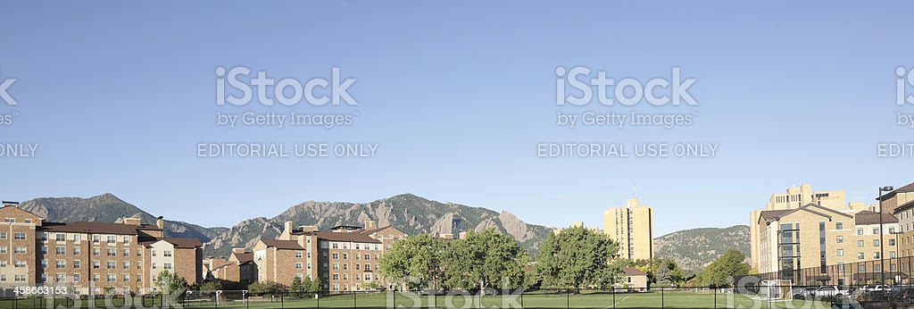 University of Colorado, Boulder, Williams Village student housing stock photo