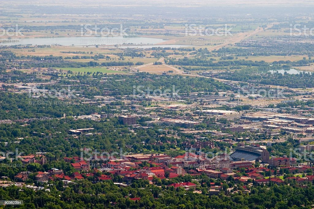 University of Colorado Campus stock photo