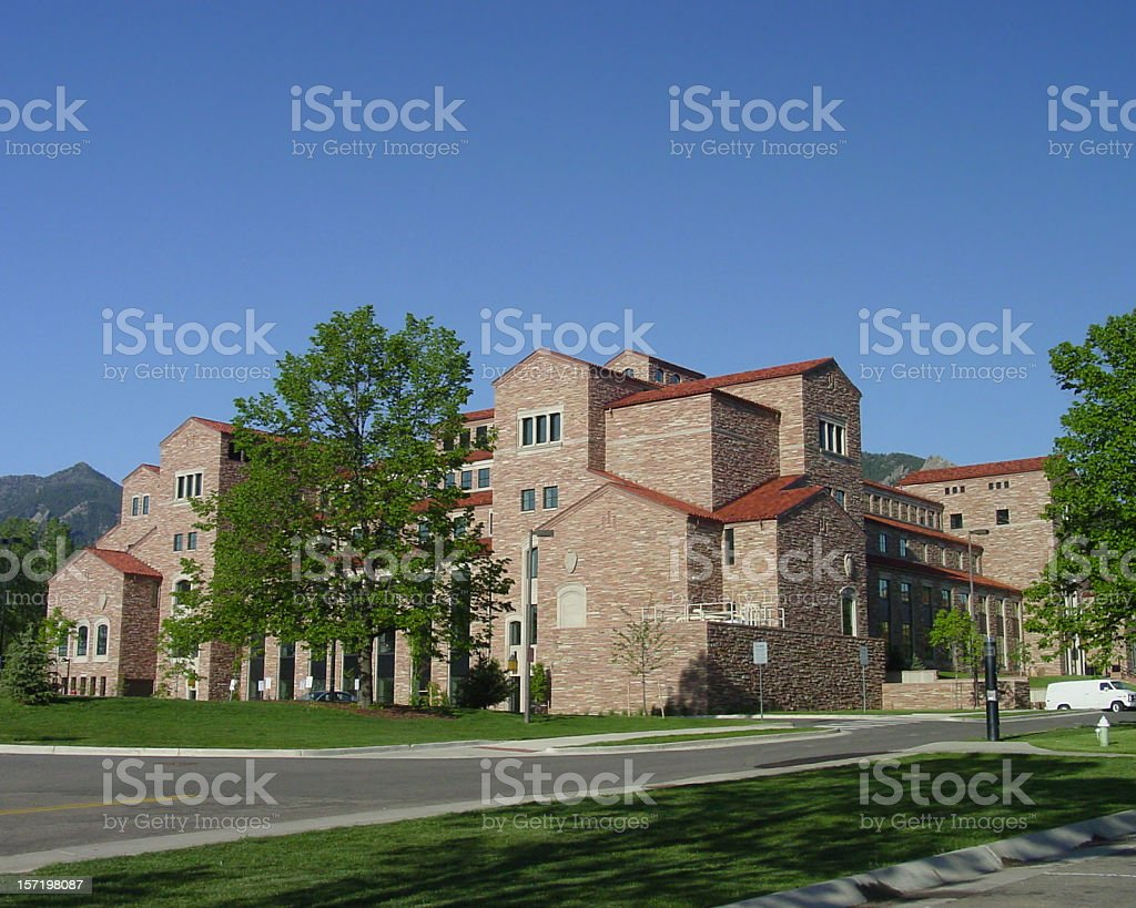 University of Colorado Law School. stock photo