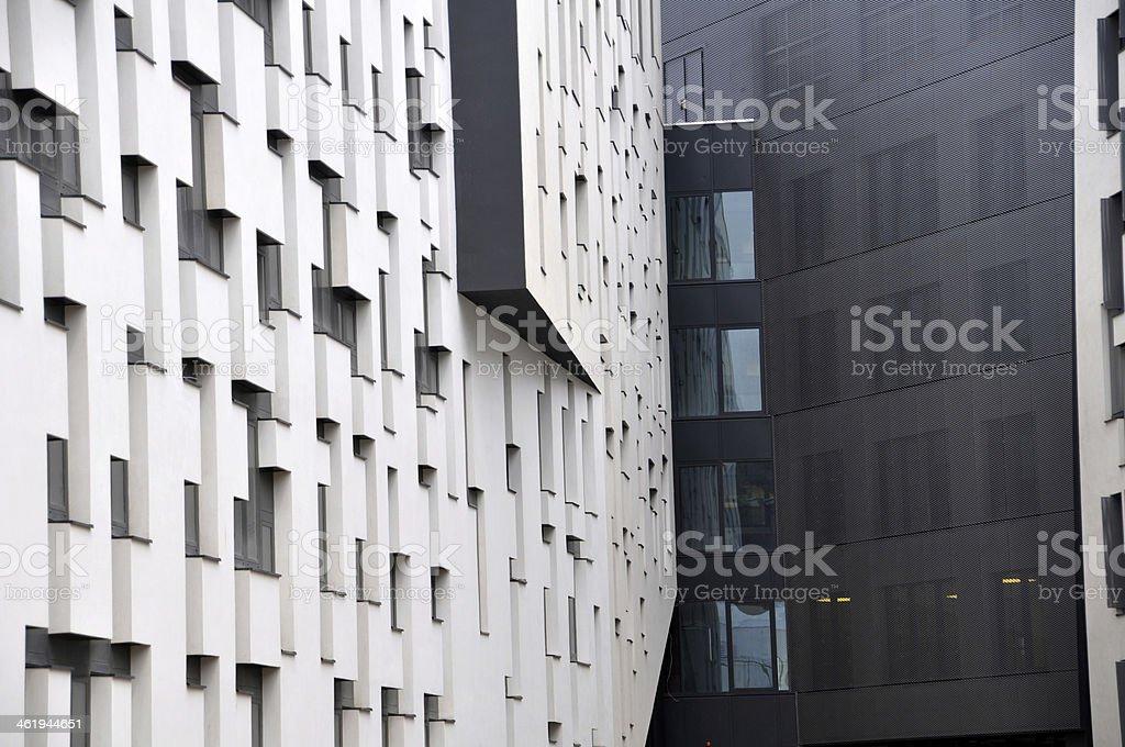 University of Economics in Vienna stock photo