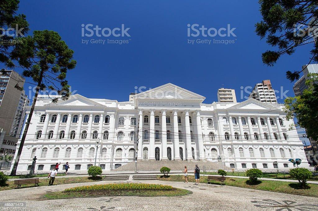 University of Federal Parana, Curitiba, Brazil stock photo