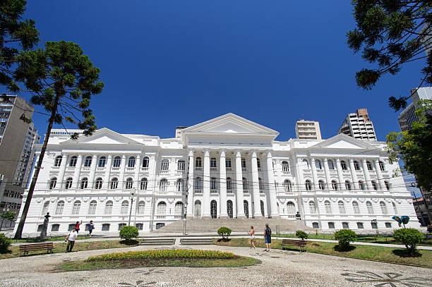 university of federal parana, curitiba, brazil - curitiba stock photos and pictures