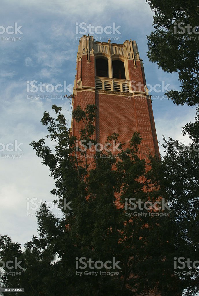 University of Florida Century Tower stock photo
