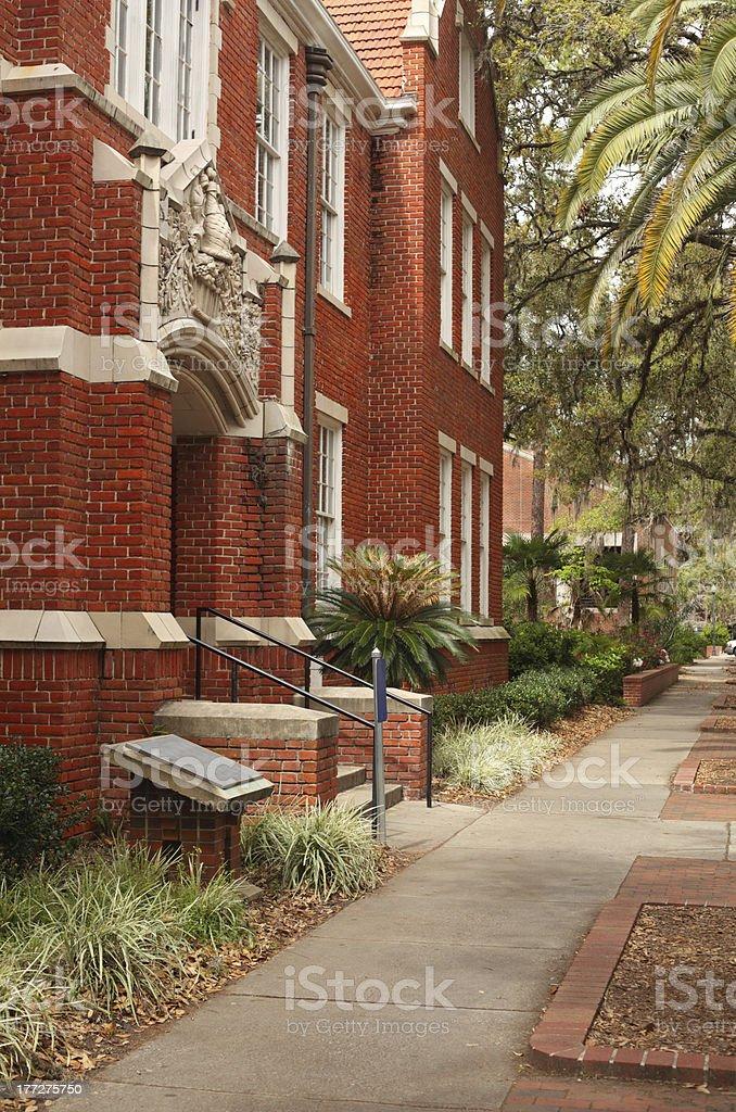 University of Florida Griffin-Floyd Hall stock photo