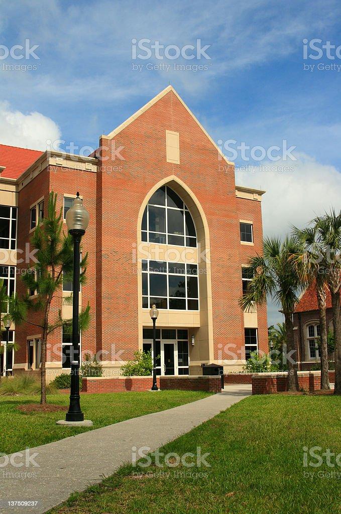 University of Florida Pugh Hall stock photo