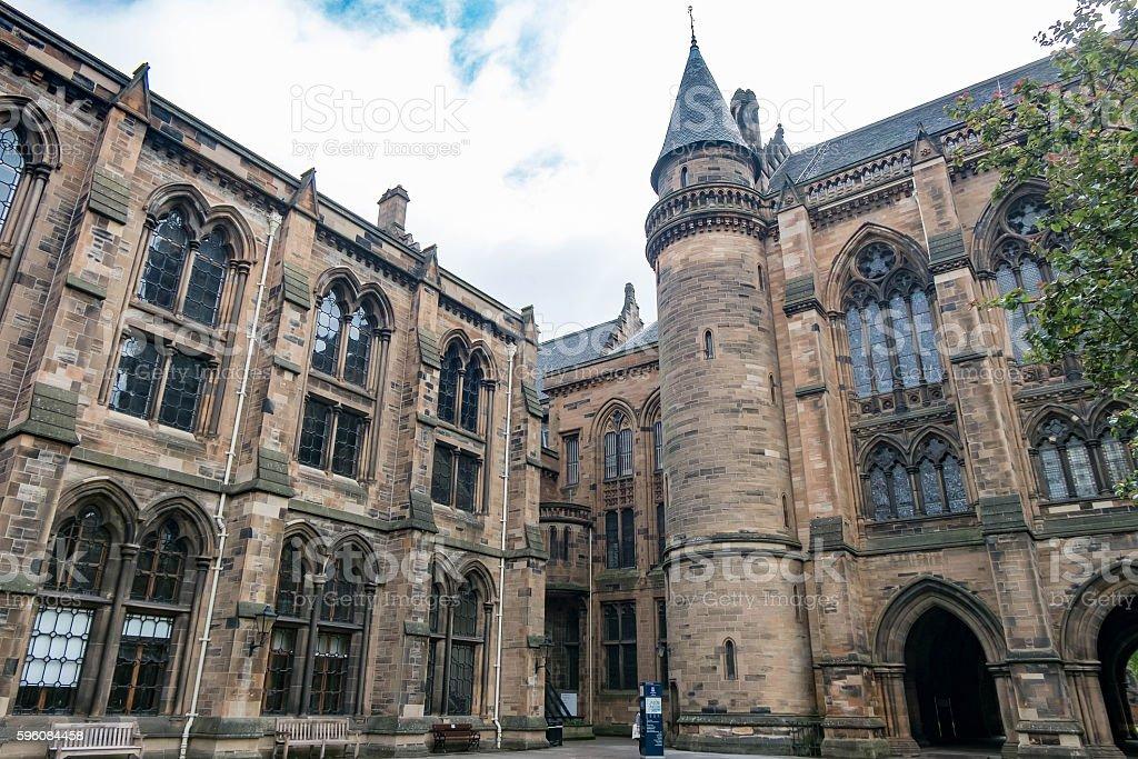 University of Glasgow royalty-free stock photo