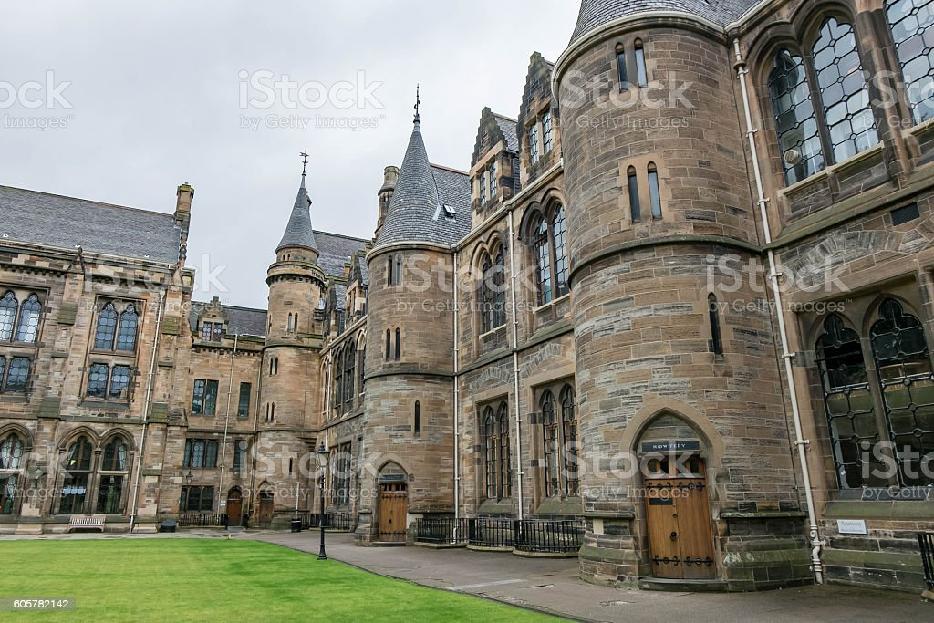 University of Glasgow stock photo