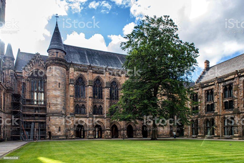 University of Glasgow, Scotland stock photo