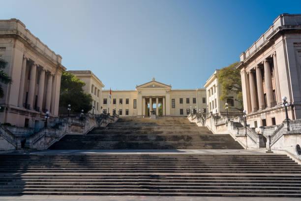 Universität von Havanna. Kuba – Foto