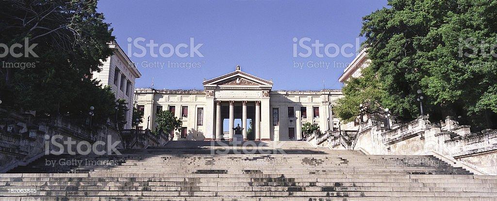 University of Havana, Cuba stock photo
