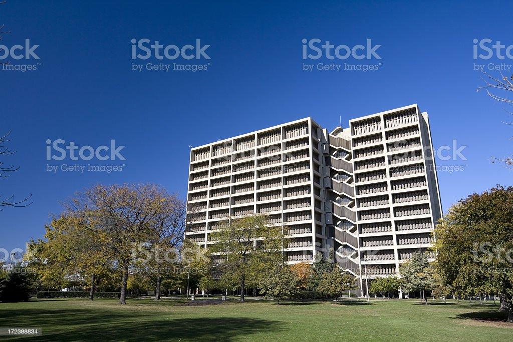 University of Illinois Chicago Commons royalty-free stock photo