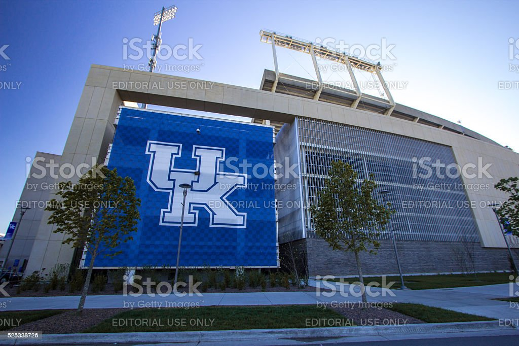 University Of Kentucky Stadium stock photo