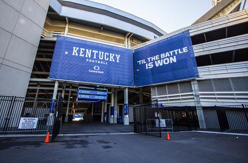 University Of Kentucky Wildcats Football Stadium Stock ...
