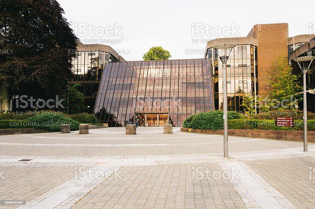 University of Limerick, Ireland. Main Building. stock photo