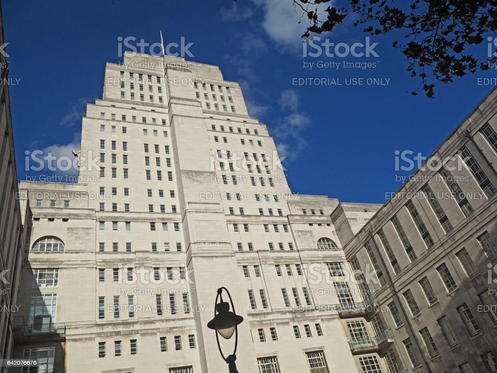 University of London, Senate House Building stock photo