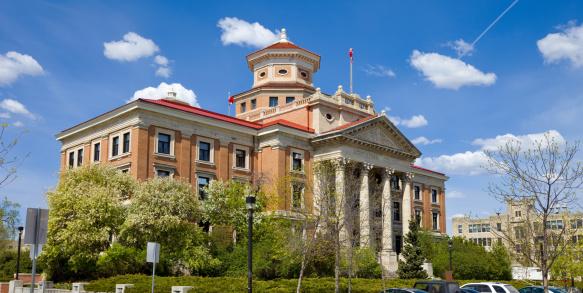 University Of Manitoba Winnipeg Stock Photo - Download Image Now