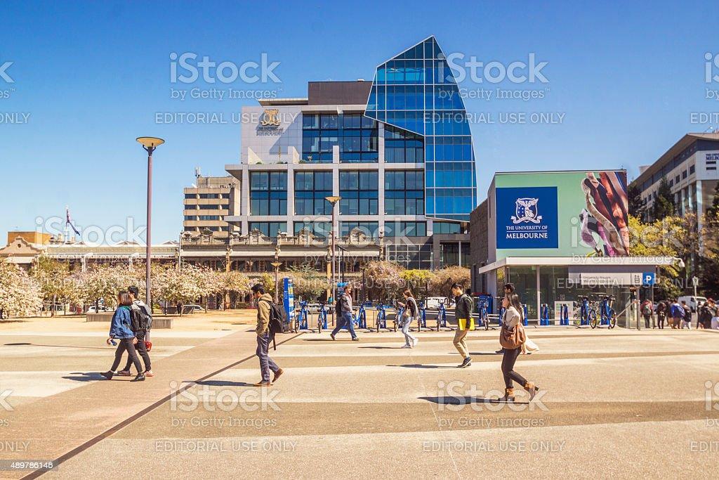 University of Melbourne - Alan Gilbert Building stock photo