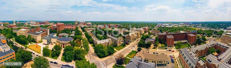 University of Michigan Ann Arbor Aerial view
