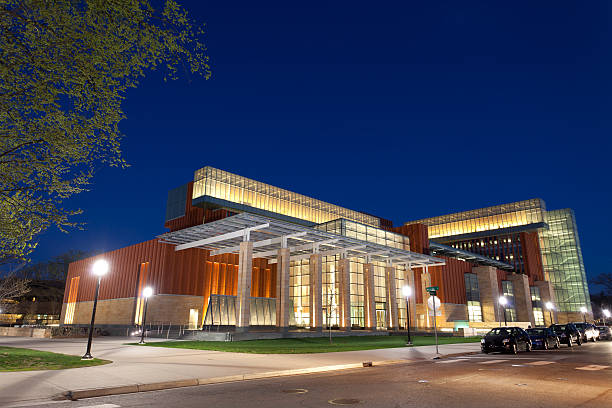 University of Michigan Business School  ann arbor stock pictures, royalty-free photos & images