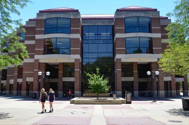 University of Michigan campus stock photo