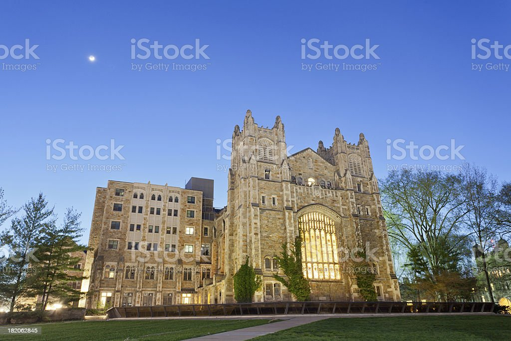 University of Michigan Law School Library, Ann Arbor, MI stock photo