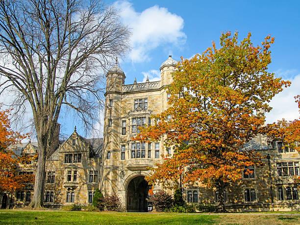 University of Michigan Law School Quadrangle, Ann Arbor, MI The Campus of the University of Michigan Law School in Ann Arbor is also known as