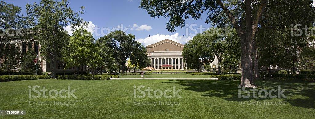University of Minnesota commons royalty-free stock photo