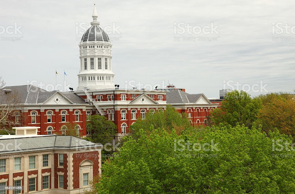 University of Missouri royalty-free stock photo