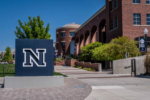 University of Nevada Reno Campus stock photo