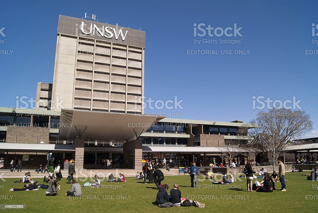 University of New South Wales (UNSW) stock photo