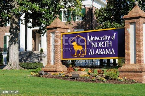 istock University of North Alabama sign 458962125