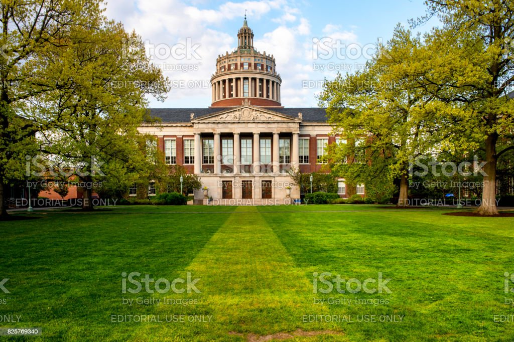 University of Rochester royaltyfri bildbanksbilder