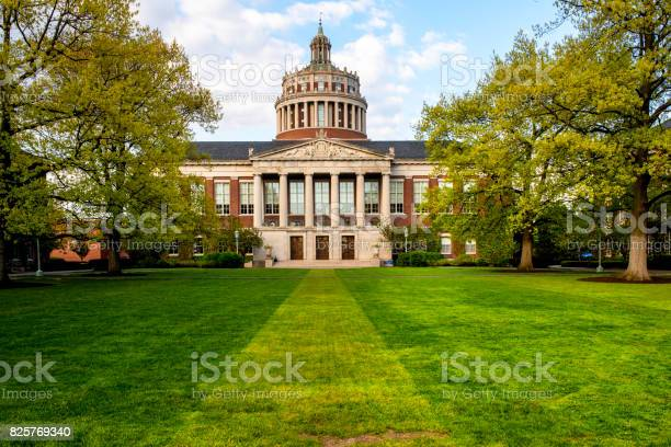 University Of Rochester Stock Photo - Download Image Now