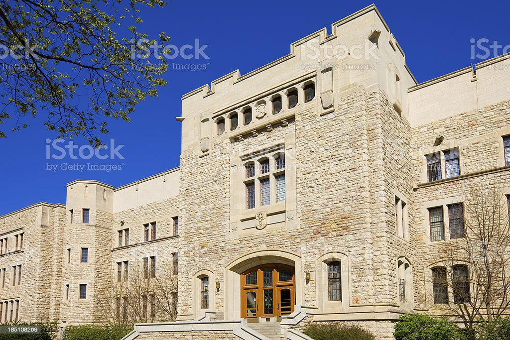 University of Saskatchewan, Saskatoon, Canada royalty-free stock photo