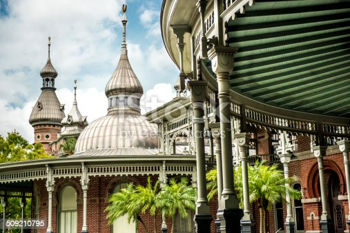 Campus of the University of Tampa