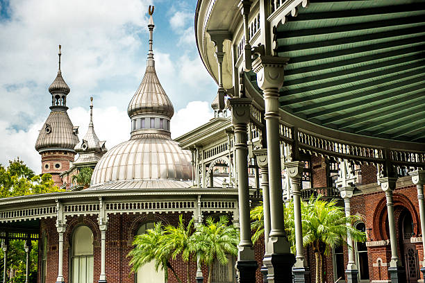 University of Tampa Campus of the University of Tampa minaret stock pictures, royalty-free photos & images