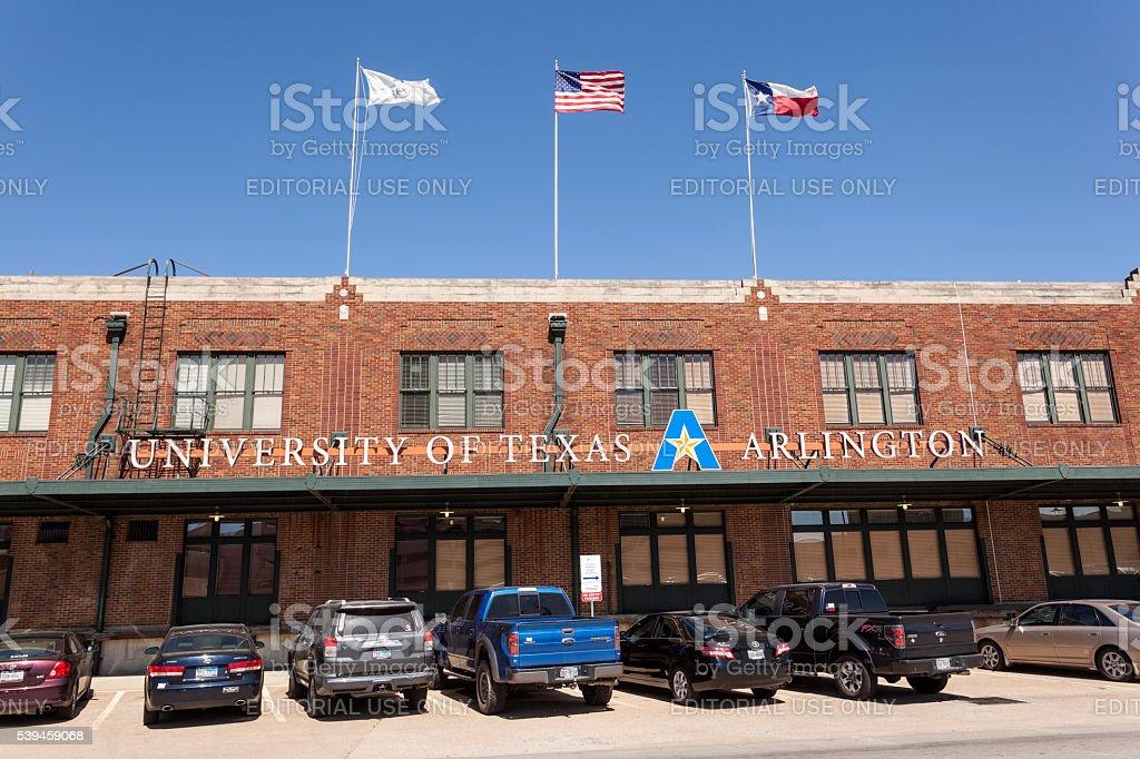 University of Texas Arlington in Fort Worth stock photo