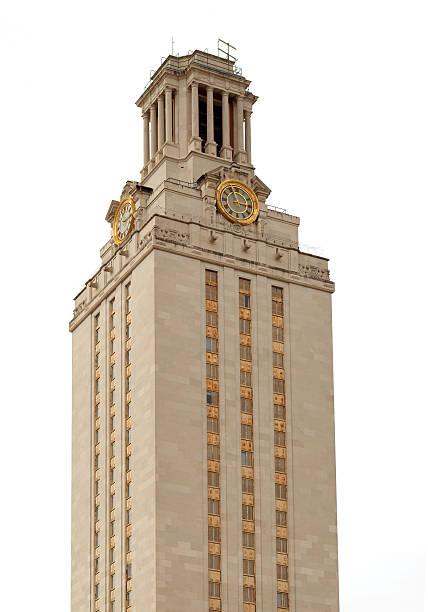 UT University of Texas at Austin Tower stock photo