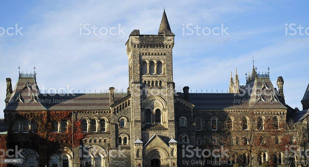 University of Toronto architecture. royalty-free stock photo