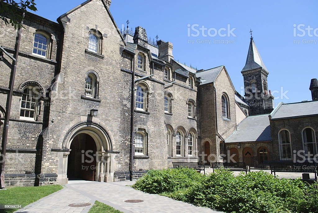University of Toronto royalty-free stock photo